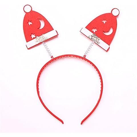 Le decorazioni di Natale Natale forniture di feltro di colore il fiocco di neve di (Bunny Velo)