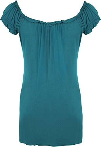 WearAll - Top - Donna Teal