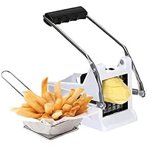 Lord of the Deals - French Fry and Wedge Potato Chipper, 2 Blades, Vegetable Cutter