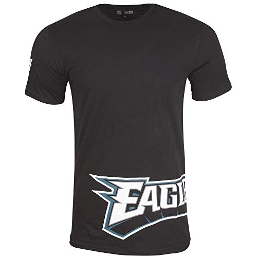 New Era NFL Wrap Around Philadelphia Eagles T-Shirt Herren schwarz, XL