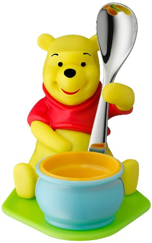 e the Pooh mit Löffel Kunststoff (Winnie The Pooh Besteck)
