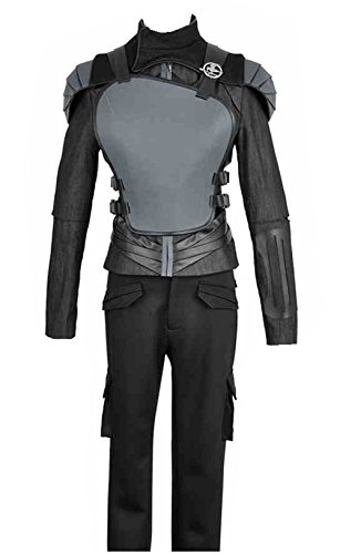 2015 Film The Hunger Games: Teil 2 Katniss Everdeen schwarz Version Cosplay Kostüm Custom Made