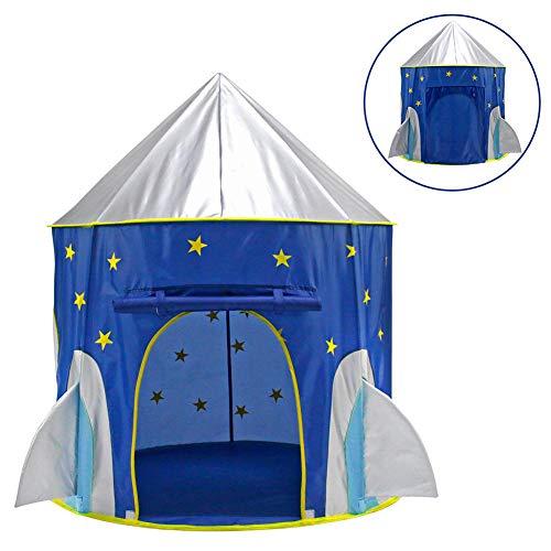Nbibsaacy Kinder Spielzelt auch als Bällezelt Bälle Kinder Zelte Spielschloß Spielzelte Spielhöhle Spielhaus aus Stoff Der Ball ist Nicht enthalten,Spacecapsule