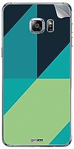 GsmKart SGS6EP Mobile Skin for Samsung Galaxy S6 Edge Plus (Green, Galaxy S6 Edge Plus-741)
