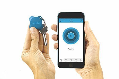 P.L.A. Lapa 2 Bluetooth Tracker – Finden Sie Schlüssel, Geldbörse, Tasche, Haustiere und sogar Ihr Smartphone