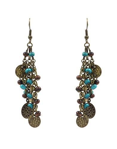 VB orecchini-orecchini pendenti, colore: oro anticato