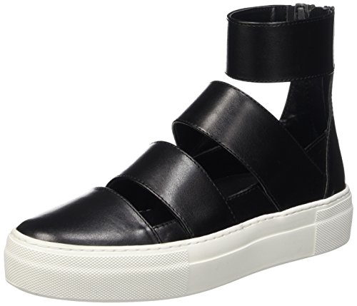 Cult Love Mid 1002, Sneaker a Collo Alto Donna, Nero, 38 EU