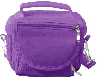 Tasche für Nintendo 3DS/ DS Lite/ DSi/ DSiXL (mit Schultergurt) Violett - Handtasche Gurt-hardware