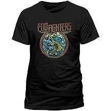 CID Herren T-Shirt Foo Fighters-Globe