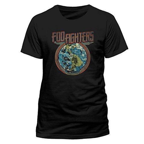 Cid foo fighters - globe, maglietta uomo (black), small