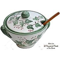 Formaggiera - Linea Edere - Dipinto a mano - Le Ceramiche del Castello
