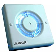 Manrose - Aspiratore bagno standard, 10cm