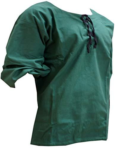 Trollfensen Mittelalterliches Hemd Langarmhemd