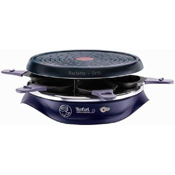 Tefal RE506412 Appareil à Raclette Simply Invent 6 Coupelles