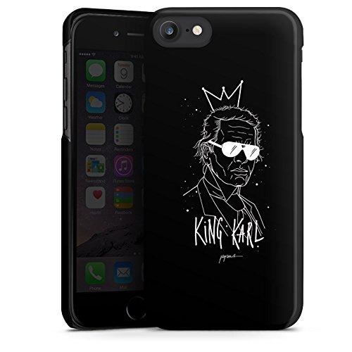 Apple iPhone 6s Plus Hülle Case Handyhülle Karl Lagerfeld Kunst Mode Hard Case schwarz