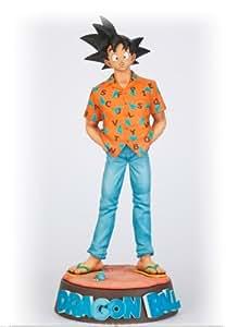 Dragon Ball Budokai Tenkaichi Figure Colosseum SCultures Statue / Figur: Son Goku (Hawaii Version) 21 cm