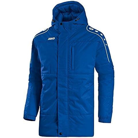 Jako Active Coach Chaqueta, todo el año, hombre, color azul, blanco, tamaño L