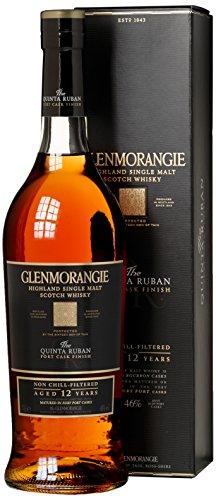 Glenmorangie Quinta Ruban 12 Jahre in Geschenkverpackung (1 x 0.7 l) (Dunkle Schokolade Mit Orange)