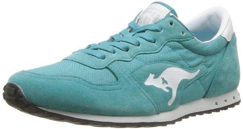 KangaROOS Unisex-Erwachsene Blaze III Sneaker, Blau-Bleu (480 Baltic White), 37 EU