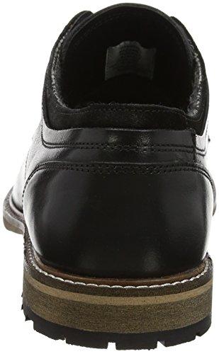 Steve Madden Footwear Herren gambol Low Derby Derbys Schwarz (Black)
