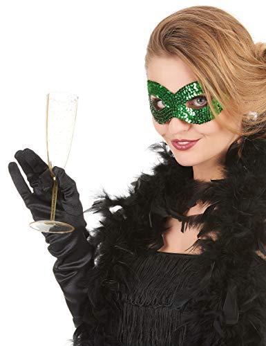 Generique - Augenmaske mit grünen Paletten für Erwachsene
