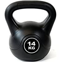 Extreme Fitness Vinyl Kettlebell Strength Weight Fitness Home Gym Workouts Kettlebells 2-24kg