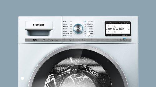 Siemens iQ800 WT47Y701 iSensoric Premium-Wärmepumpentrockner / A++ / 8 kg / Weiß / Selbstreinigender Kondensator / SoftDry-Trommelsystem / TFT-Display - 4