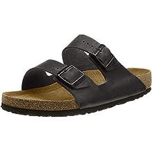 Birkenstock Arizona, Unisex-Adults' Sandals, Black (SCHWARZ), 3.5 UK Regular (36 EU)