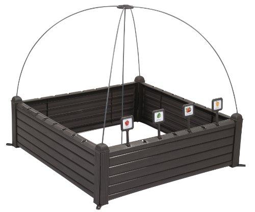 Keter - Mini huerto casa Raised Garden Ben marcadores