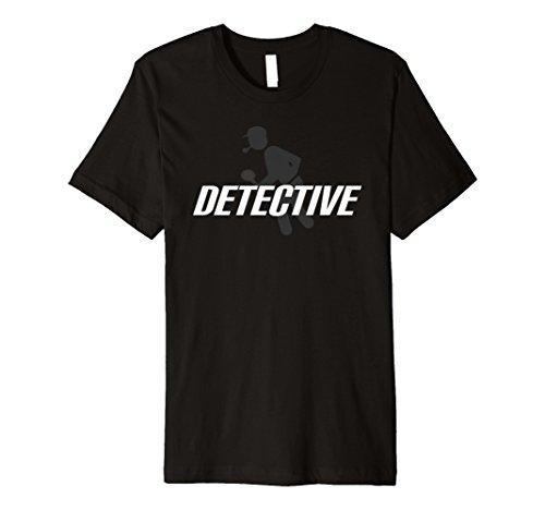 Detektiv T Shirt Halloween-Kostüm Funny Cute -