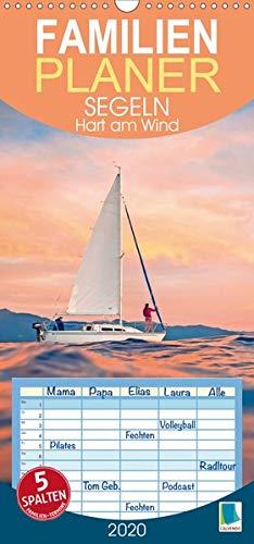 Segeln: Hart am Wind - Familienplaner hoch (Wandkalender 2020 , 21 cm x 45 cm, hoch): Segelschiffe, Yachten, Regatta: Ahoi Segler, Familienplaner 5 ... (Familienplaner, 14 Seiten ) (CALVENDO Sport)