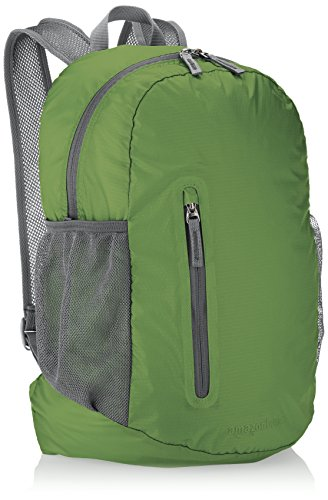 Amazonbasics ultralight packable day pack, green, 35l