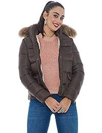Amazon.it  Museum - Marrone   Giacche e cappotti   Donna  Abbigliamento 434307682b6e