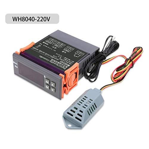 Kompakte leichte LED-Digital-Thermostat-Temperatur-Feuchteregler Hohe Genauigkeit Luftfeuchtigkeit Digital-Controller-Meter -