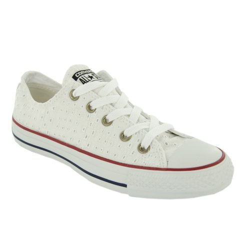 Converse All Star Ox, Sneaker Unisex Adulto Bianco