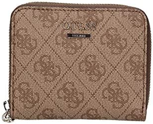 Guess Kerrigan SLG Small Zip Around Brown