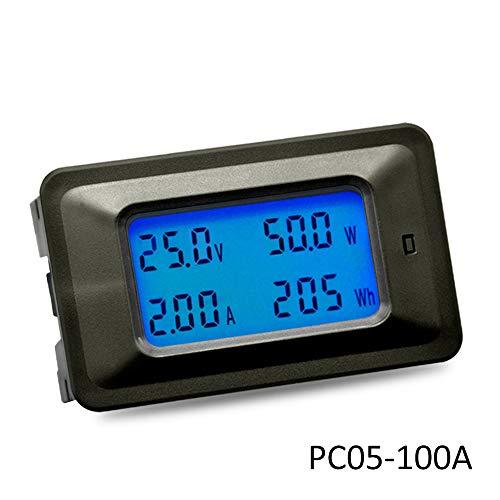 KKmoon Digital Voltmeter Amperemeter Stromzähler Leistungsmesser 4 IN 1 Amperemeter Shunt