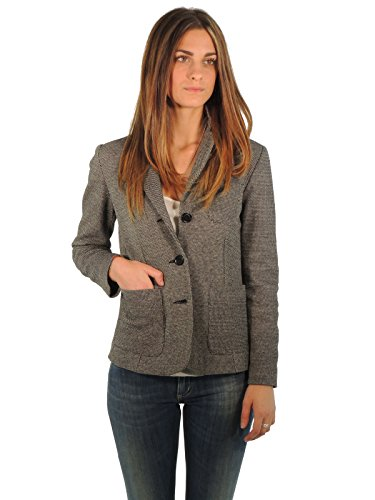 max-mara-womens-fabric-jacket-long-sleeve-jacket-black-black-and-white-medium