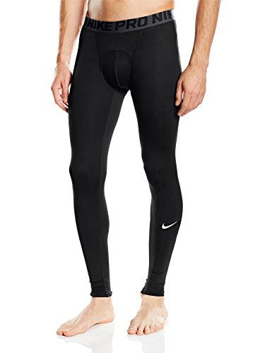 Nike Cool Tight Tights Uomo, Black/Dark Grey/White, XL