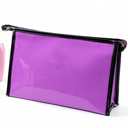 KAFEI Kosmetische storage Paket große Kapazität glänzend Spiegel reisen Weiblich, rot purple