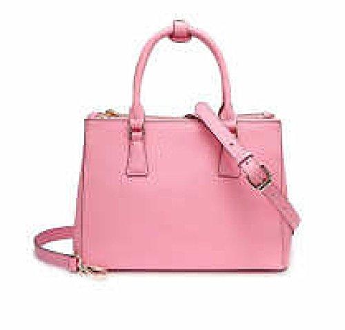 PACK Borse In Pelle Verniciata Extravagante Portatile In Pelle Rhombus Ladies Bags Messenger Bag,A:White C:Pink