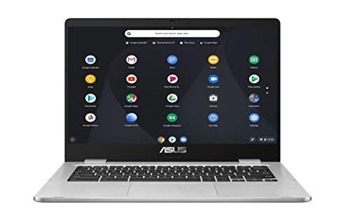Asus C423NA-BZ0004 Chromebook 14' Argent (Intel Celeron, 4...