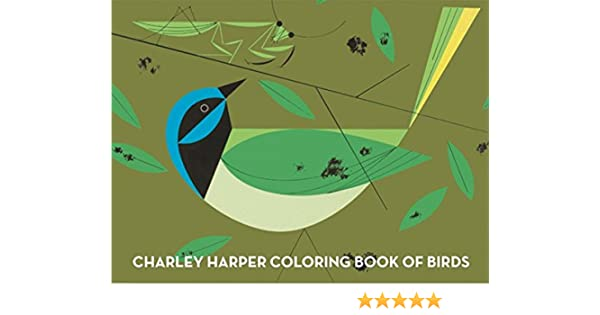 Charley Harper Coloring Book Of Birds: Amazon.de: Charley ...