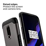 Spigen OnePlus 6T Case [Tough Armor] Reinforced Kickstand Heavy Duty Protection Air Cushion Technology OnePlus 6T Cover - K07CS25560 [Gunmetal]