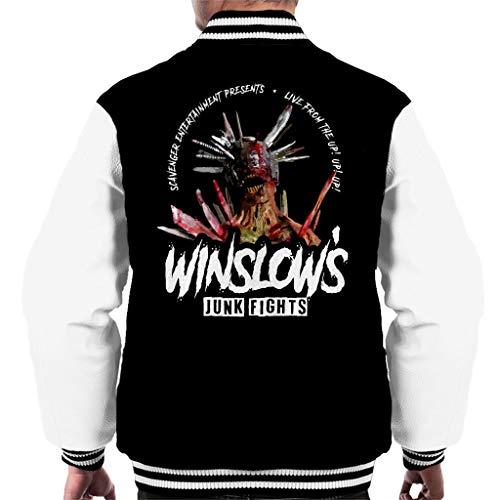 Cloud City 7 Walking Dead Winslows Junk Fights Men's Varsity Jacket