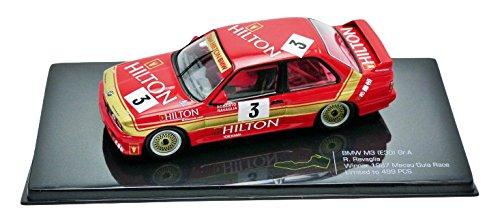 ixo-mgpc005-bmw-m3-e30-winner-macau-1987-echelle-1-43-rouge