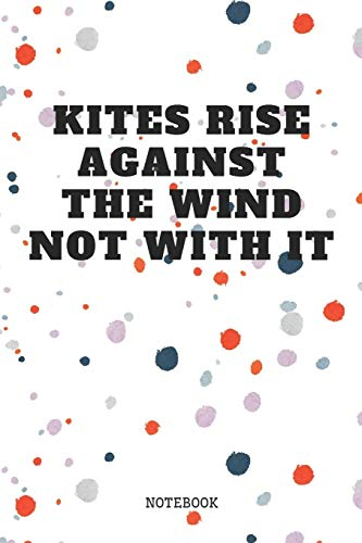 """Notebook: Great Kite Surfing Quote / Kitesurfing Saying Kite Sports Planner / Organizer / Lined Notebook (6\"""" x 9\"""")"""