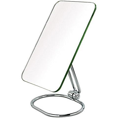 Trucco LED Specchio Desktop Specchio quadrato europeo in stile principessa