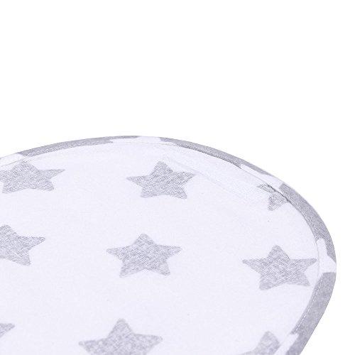 LULANDO M00014251 Ganzkörper Pucksack Pucktuch Strampelsack, weiß