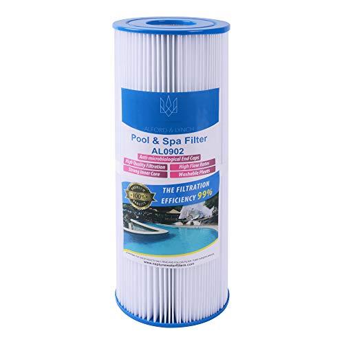 Mikro-filtration Ersatz-filter (Alford & Lynch Ersatz-Poolfilter für Unicel C-4326, Spa Filter FC2375, Pleatco PRB25-IN (1))